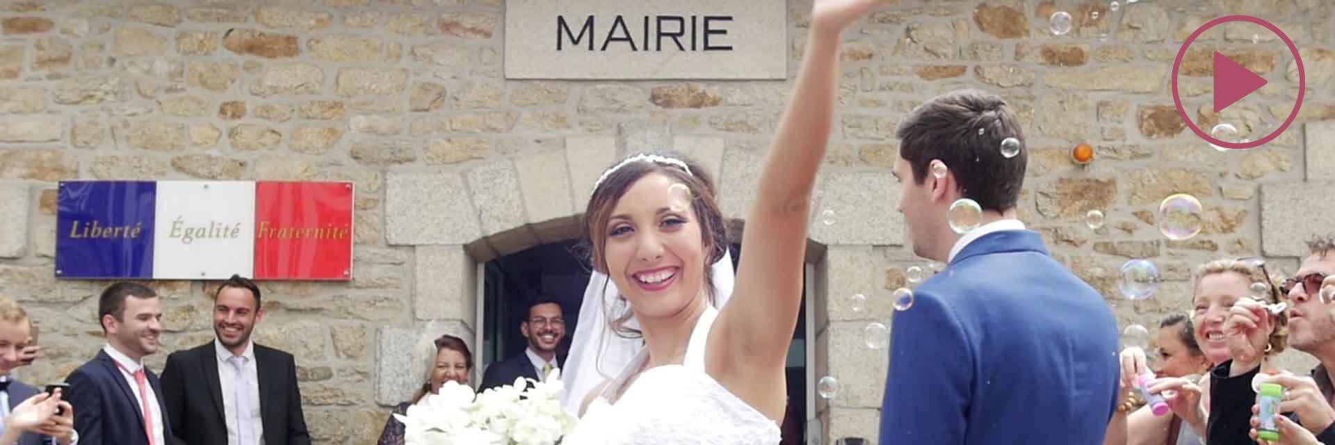Thailiuska & Vincent : Leur film de mariage à Lorient (clip best of)
