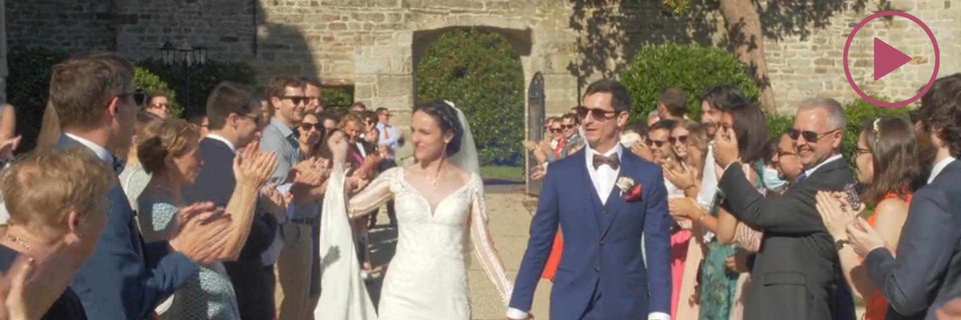 A & M, Le meilleur de leur film de mariage en Bretagne.